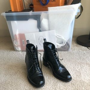Chanel classic boots